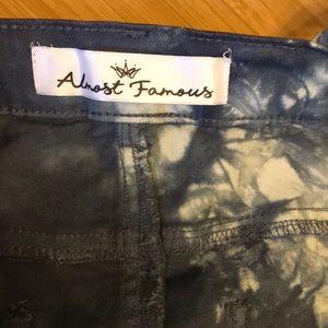 Almost Famous Shorts - NWT Almost Famous juniors shortalls! Dark denim